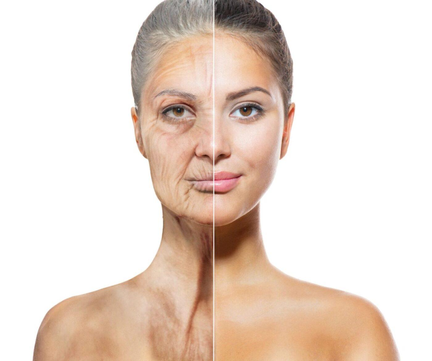 老化のイメージ