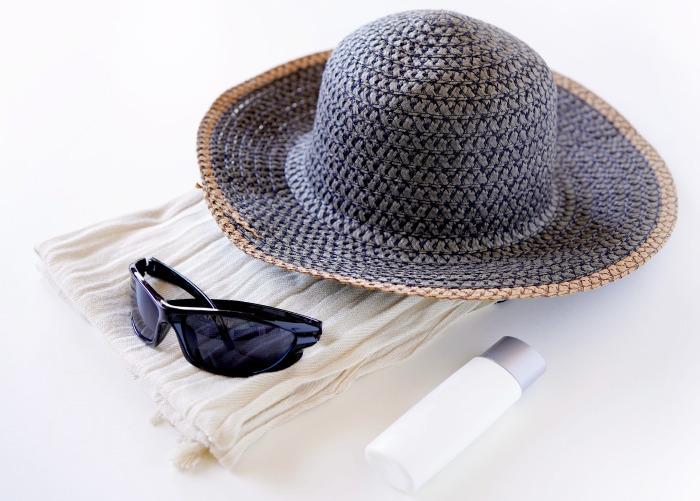 シワ策、紫外線を防ぐ